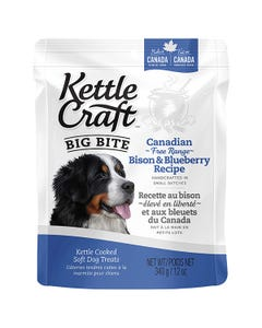 Kettle Craft Big Bite Canadian Free-Range Bison & Blueberry Recipe