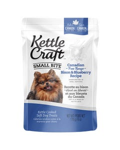 Kettle Craft Small Bite Canadian Free-Range Bison & Blueberry Recipe