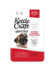 Kettle Craft Small Bite Smokey Canadian Bacon Treats - 6 oz.