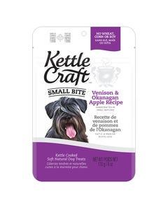 Kettle Craft Small Bite Venison & Okanagan Apple Treats - 6 oz.
