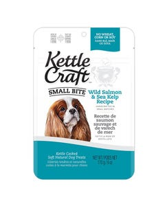 Kettle Craft Small Bite Wild Salmon & Sea Kelp Treats - 6 oz.