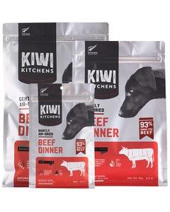 Kiwi Kitchens Gently Air-Dried Beef Dinner Dog Food