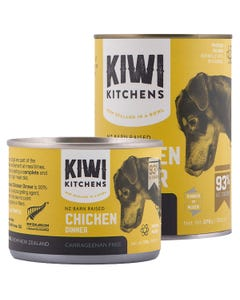 Kiwi Kitchens NZ Barn Raised Chicken Dinner Canned Wet Food for Dogs
