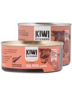 Kiwi Kitchens NZ Farmed Salmon Dinner Canned Wet Food for Cats