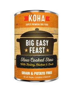KOHA Big Easy Feast Slow Cooked Stew Dog Food
