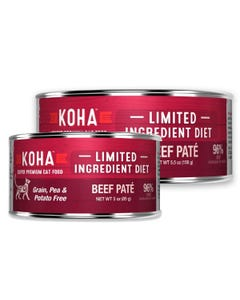 KOHA Limited Ingredient Cat Food - Beef Pâté