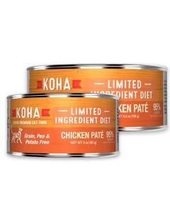 KOHA Limited Ingredient Cat Food - Chicken Pâté