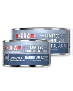 KOHA Limited Ingredient Cat Food - Rabbit Au Jus