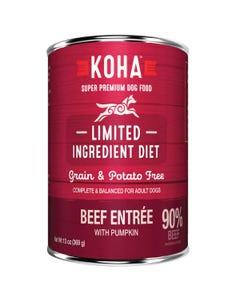 KOHA Limited Ingredient Dog Food - Beef Entrée