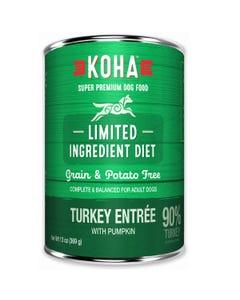KOHA Limited Ingredient Dog Food - Turkey Entrée