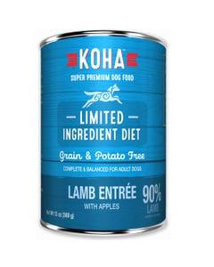 KOHA Limited Ingredient Dog Food - Lamb Entrée