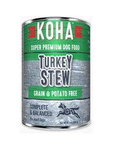 KOHA Minimal Ingredient Dog Food - Turkey Stew