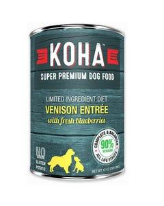 KOHA Limited Ingredient Dog Food - Venison Entrée