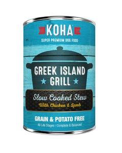 KOHA Greek Island Grill Slow Cooked Stew Dog Food