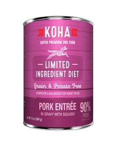 KOHA Limited Ingredient Dog Food - Pork Entrée