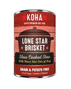 KOHA Lone Star Brisket Slow Cooked Stew Dog Food