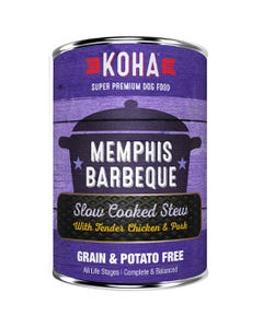 KOHA Memphis Barbeque Slow Cooked Stew Dog Food