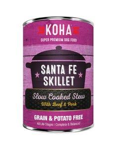 KOHA Santa Fe Skillet Slow Cooked Stew Dog Food