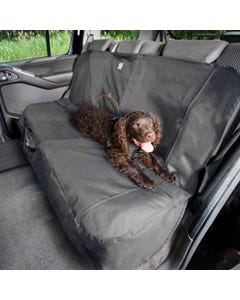 Kurgo Bench Seat Cover - Extended Width - Charcoal Grey