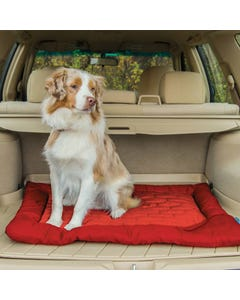 Kurgo Loft Wander Dog Bed in Vehicle
