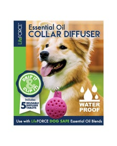 Life Force Essential Oil Collar Diffuser - Pink
