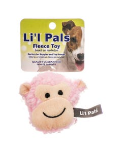 Lil Pals Fleece Monkey Toy