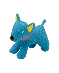Lil Pals Latex Blue Dog Toy