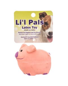 Lil Pals Latex Pig Toy