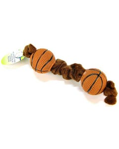 Lil Pals Plush Basketball Tug Toy