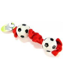 Lil Pals Plush Soccer Ball Tug Toy