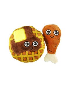 Mad Cat Cat Toy - Chicken and Waffles
