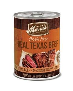 Merrick Grain Free Real Texas Beef Dinner