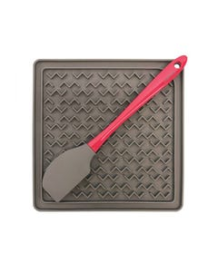 Messy Mutts Silicone Therapeutic Feeding Mat with Spatula