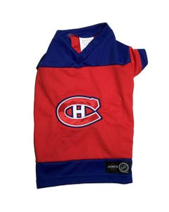 NHL Dog Jersey - Montreal Canadiens