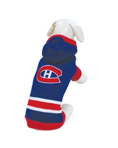 NHL Dog Sweater - Montreal Canadiens