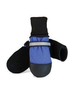 Muttluks Fleece-Lined Dog Boots - Blue