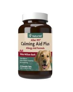 NaturVet Aller-911 Calming Aid Plus Allergy Aid Formula