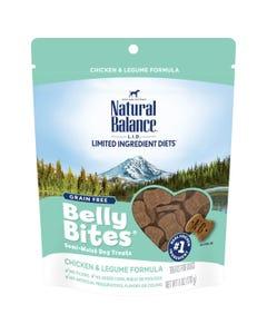 Natural Balance Belly Bites Dog Treats - Chicken & Legume Formula