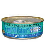 Natural Balance L.I.D. Canned Cat Food - Chicken & Green Pea