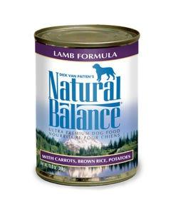 Natural Balance Canned Dog Food - Lamb Formula