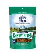 Natural Balance Limited Ingredient Diets Chewy Bites - Lamb