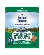 Natural Balance Limited Ingredient Diets Crunchy Biscuits - Lamb