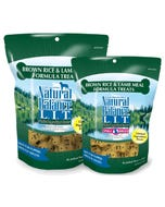 Natural Balance L.I.T. Biscuits - Brown Rice & Lamb Sizes