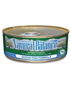 Natural Balance Canned Cat Food - Ocean Fish
