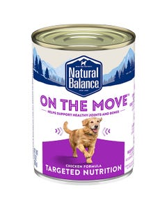 Natural Balance Targeted Nutrition On The Move Wet Dog Food