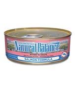 Natural Balance Canned Cat Food - Salmon Formula