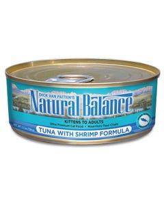Natural Balance Canned Cat Food - Tuna with Shrimp Formula