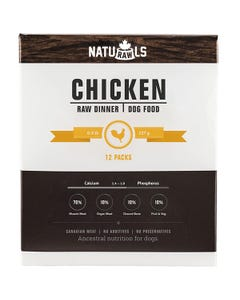 Naturawls Raw Dinners for Dogs - Chicken Dinner