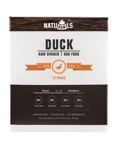 Naturawls Raw Dinners for Dogs - Duck Dinner