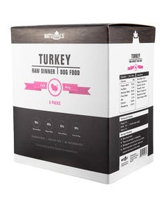 Naturawls Raw Dinners for Dogs - Turkey Dinner